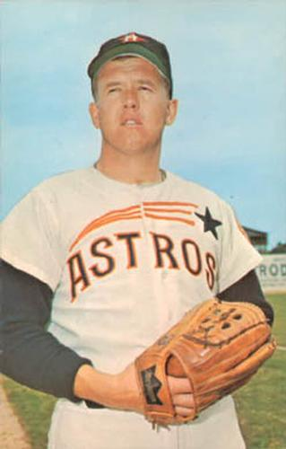 1968 Dexter Press Houston Astros 8 Denny Lemaster Front