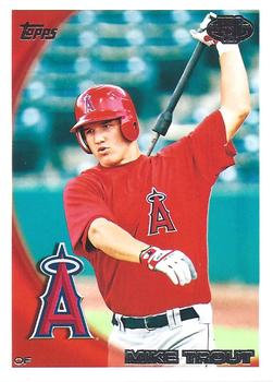 2010 Topps Pro Debut #181 Mike Trout Front