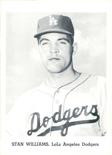 1962 Topps #515 Stan Williams Los Angeles Dodgers Baseball Card