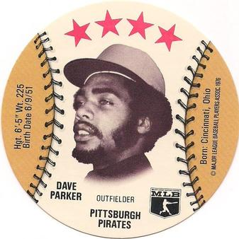 1976 Carousel Discs #NNO Dave Parker Front