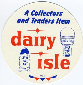 1977 Dairy Isle Discs #NNO Bill Madlock Back