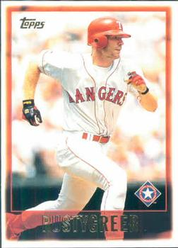 1997 Topps #12 Rusty Greer Front