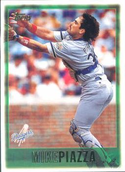 1997 Topps #20 Mike Piazza Front