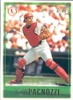 1997 Topps #2 Tom Pagnozzi Front