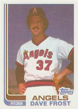 1982 Topps - Blackless #24 Dave Frost Front