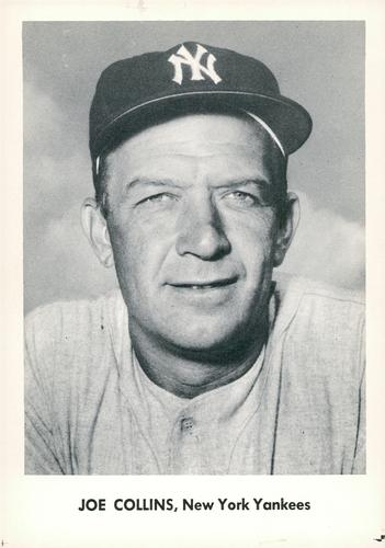 1957 Jay Publishing New York Yankees World Series #NNO Joe Collins Front