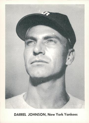1957 Jay Publishing New York Yankees World Series #NNO Darrel Johnson Front
