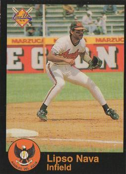 1995-96 Line Up Venezuelan Winter League #39 Lipso Nava Front