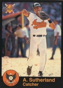1995-96 Line Up Venezuelan Winter League #52 Alex Sutherland Front