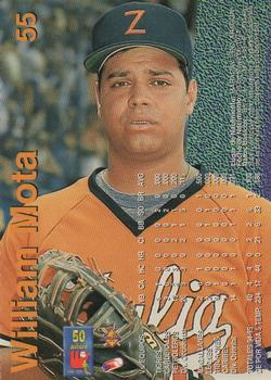 1995-96 Line Up Venezuelan Winter League #55 William Mota Back