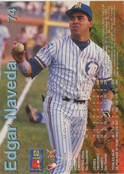 1995-96 Line Up Venezuelan Winter League #74 Edgar Naveda Back