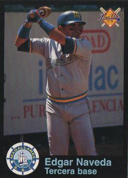 1995-96 Line Up Venezuelan Winter League #74 Edgar Naveda Front