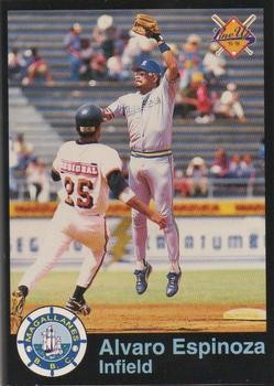 1995-96 Line Up Venezuelan Winter League #79 Alvaro Espinoza Front