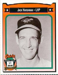 1991 Crown/Coca-Cola Baltimore Orioles #184 Jack Harshman Front