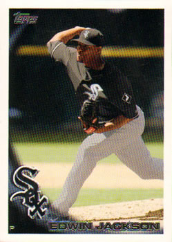 2010 Topps Update #US-315a Edwin Jackson  Front