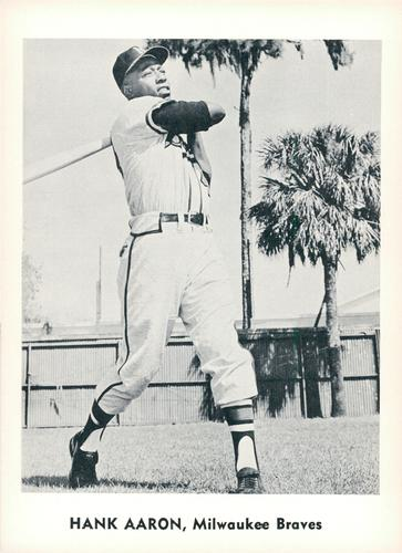 Lee Maye Of The Milwaukee Braves Half Way
