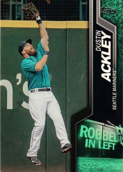 2015 Topps - Robbed #R-1 Dustin Ackley Front