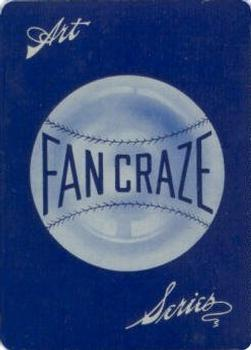 1906 WG2 Fan Craze A. L. #NNO Jack Chesbro Back
