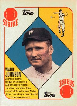 2010 Topps Update - Vintage Legends Collection #VLC-50 Walter Johnson Front