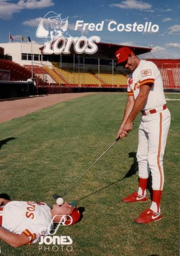1993 Jones Photo Tucson Toros #NNO Fred Costello Front
