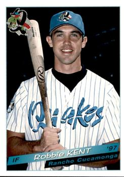 1997 Grandstand Rancho Cucamonga Quakes #NNO Robbie Kent Front