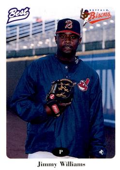 1996 Best Buffalo Bisons #22 Jimmy Williams Front