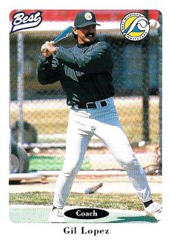 1996 Best West Michigan Whitecaps #3 Gil Lopez Front