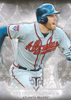 2015 Topps Triple Threads #51 Freddie Freeman Front