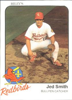 1983 Riley's Louisville Redbirds #30 Jed Smith Front