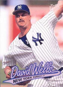 1997 Ultra #314 David Wells Front