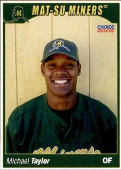 2005 Choice Mat-Su Miners #25 Michael Taylor Front