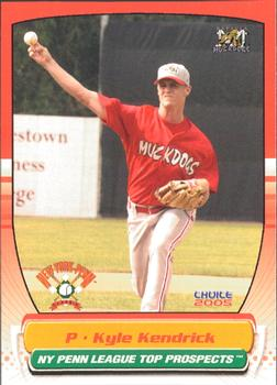 2005 Choice New York-Penn League Top Prospects #06 Kyle Kendrick Front