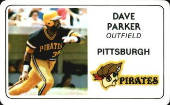 1981 Perma-Graphic Credit Cards #13 Dave Parker Front