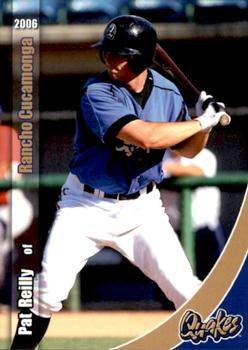 2006 Grandstand Rancho Cucamonga Quakes #10 Pat Reilly Front
