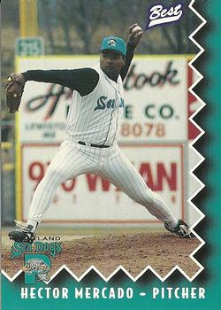 1997 Best Portland Sea Dogs #19 Hector Mercado Front