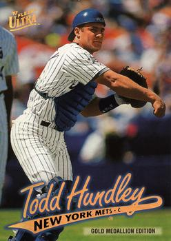 1997 Ultra - Gold Medallion #G239 Todd Hundley Front