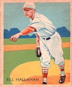 1934-36 National Chicle Diamond Stars (R327) #23 Bill Hallahan Front