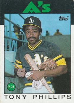 1986 Topps #29 Tony Phillips Front