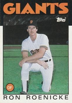 1986 Topps #63 Ron Roenicke Front