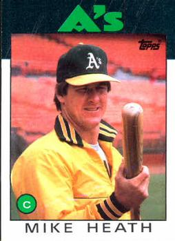 1986 Topps #148 Mike Heath Front
