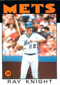 1986 Topps #27 Ray Knight Front