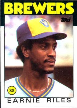 1986 Topps #398 Ernest Riles Front