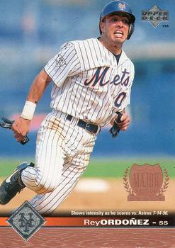 1997 Upper Deck #114 Rey Ordonez Front