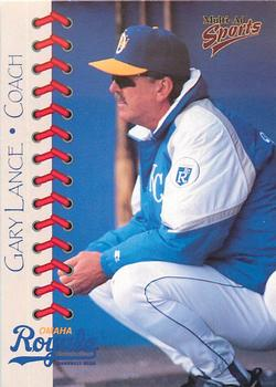 1998 Multi-Ad Omaha Royals #2 Gary Lance Front