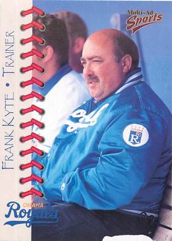 1998 Multi-Ad Omaha Royals #3 Frank Kyte Front