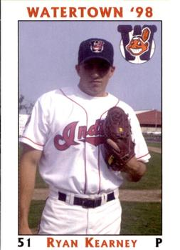 1998 Watertown Indians #NNO Ryan Kearney Front