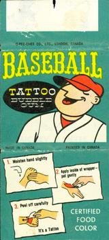 1960 O-Pee-Chee Tattoos #NNO Dick Groat Back