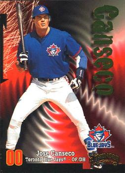 1998 Circa Thunder #46 Jose Canseco Front