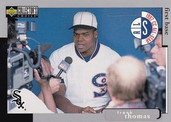 1998 Collector's Choice #60 Frank Thomas Front