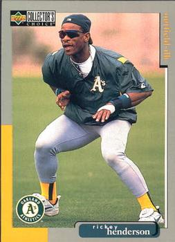 1998 Collector's Choice #455 Rickey Henderson Front